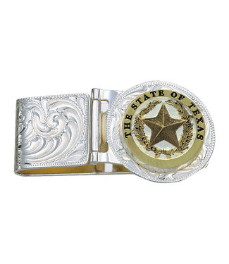 Texas State Hinged Money Clip