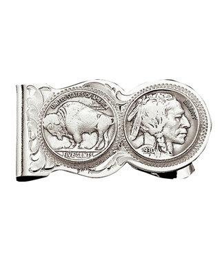 Indian Head Money Clip