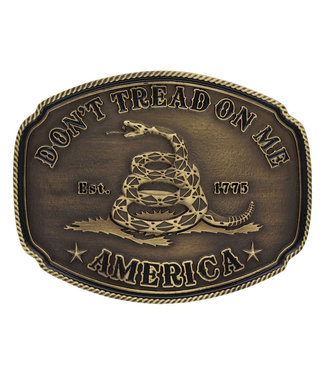 Don't Tread on Me Heritage Attitude Buckle