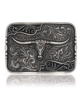 Filigree Longhorn Buckle