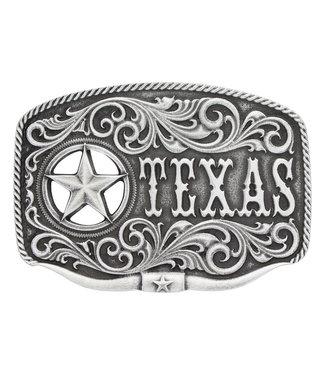 Texas Star Longhorn Classic Attitude Buckle