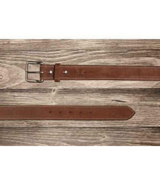 Texas Saddlery Chocolate Roughout Belt
