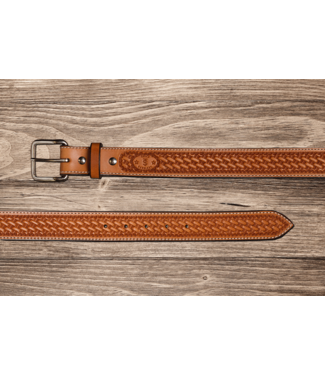 Texas Saddlery Saddle Tan Spider Belt