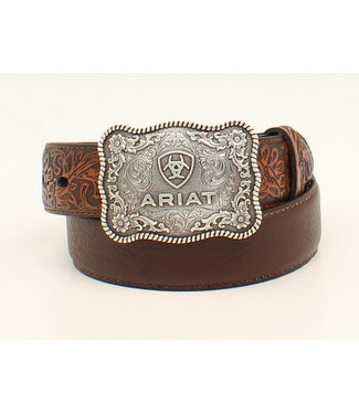 Nocona Kids Ariat Scallop Logo Buckle