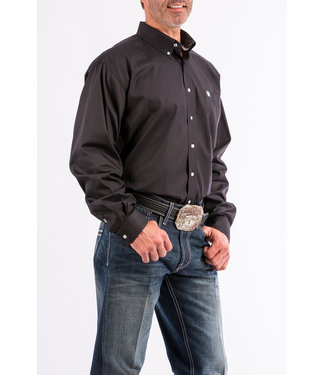 Cinch Cinch Pinpoint Black Shirt MT10320083
