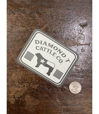 Diamond T Outfitters Cattle Co. DTO Decal