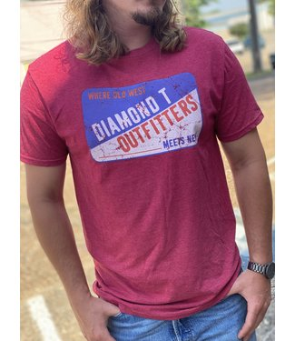 Diamond T Outfitters Where Old West Meets New Tee