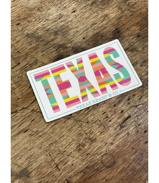 Diamond T Outfitters TEXAS decal