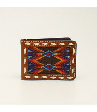 M&F Western Serape Blanket Money Clip Wallet