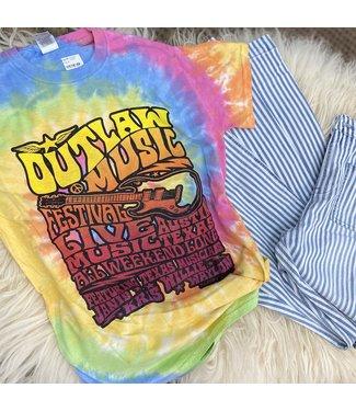 Ranch Swag Tye Dye Outlaw Music