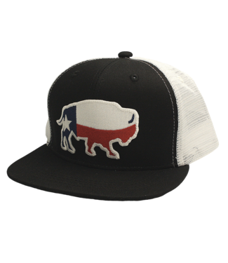Red Dirt Hat Co Youth Red Dirt TX Buffalo Cap RDHCY4