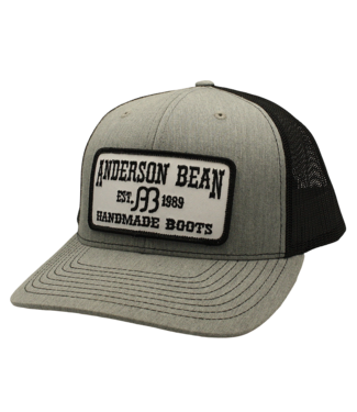 Red Dirt Hat Co Anderson Bean Grey Cap