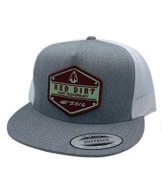 Red Dirt Hat Co Arrowhead Grey Red Dirt Cap