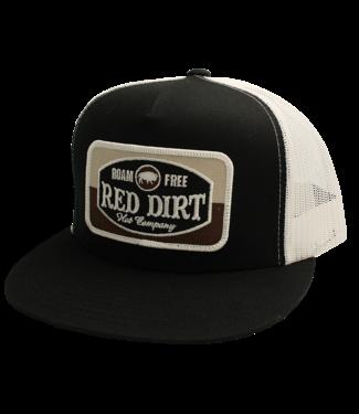 Red Dirt Hat Co Roam Free Black Classic Red Dirt Cap RDHC136