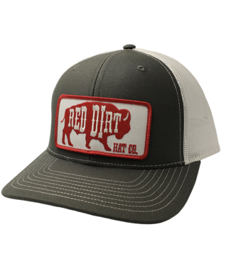 Red Dirt Hat Co Red Buffalo Red Dirt Cap