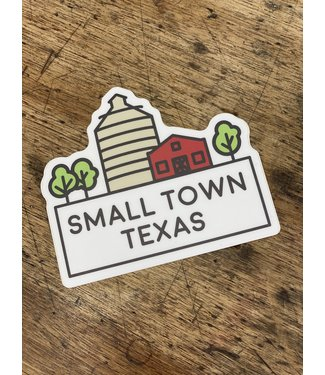 stickers NW Small Town TX Decal