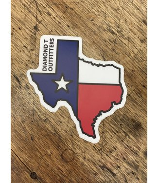 stickers NW Texas Shape Decal