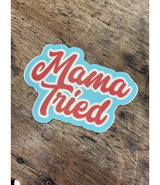 stickers NW Mama Tried Decal