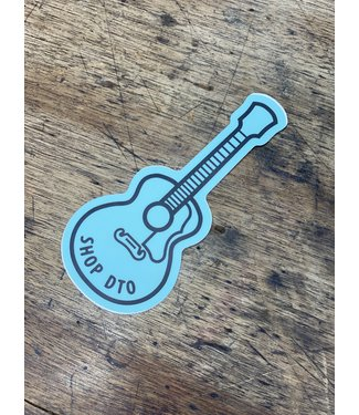 stickers NW Guitar DTO Decal