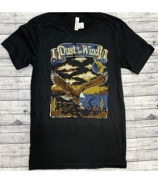 Country Deep Dust In The Wind Vintage Black
