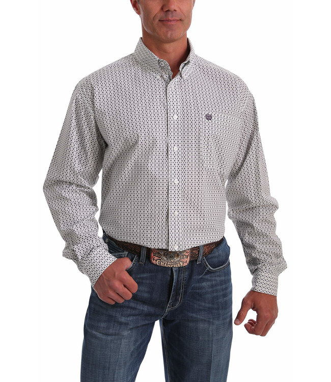 Cinch Mens LS Print MTW1105051