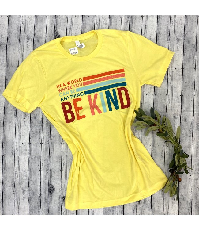 Kissed Apparel Be Kind Graphic Tee
