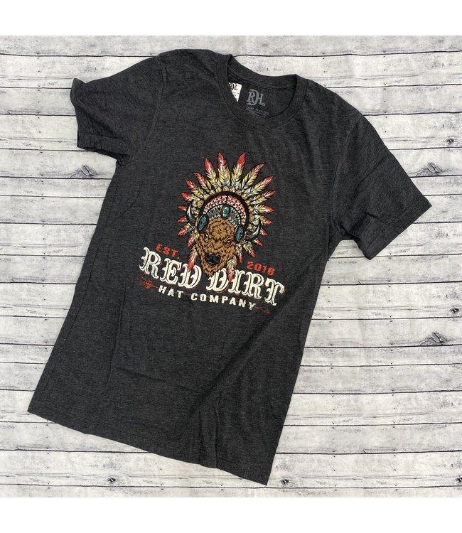 Red Dirt Hat Co Red Dirt Buffalo Headdress Tee