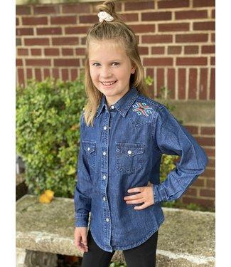 Wrangler Girls Shirt GW7517B