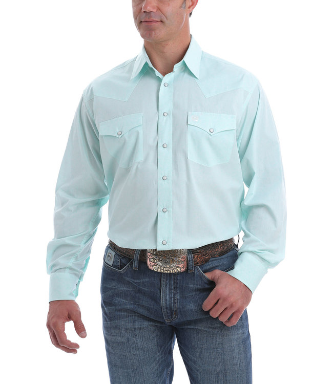 Cinch Mens LS Print MTW682026