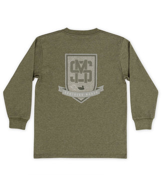 Southern Marsh SM-YLBCR-WDG Youth LS Tee