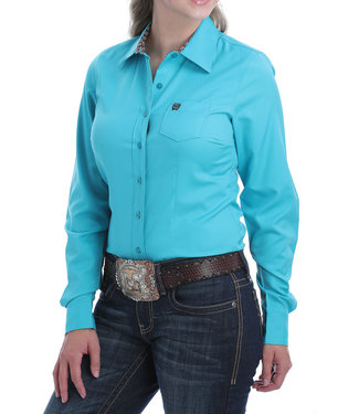 Cinch Womens LS Solid MSW9164153