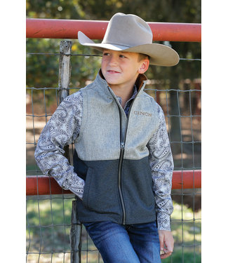 Cinch Boys Vest MWV7920001