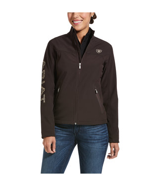 Ariat Intl Team Softshell JKT Coffee 10032689