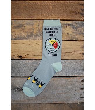 Mason Jar Label Legit to quit Socks