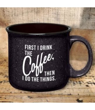 Mason Jar Label Do the Things Coffee Mug