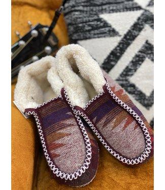 M&F Western Dena Ladies Fur Slip On