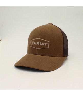 M&F Western Ariat Brown Logo Cap