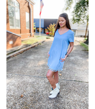 Diamond T Outfitters The Tassel Dress