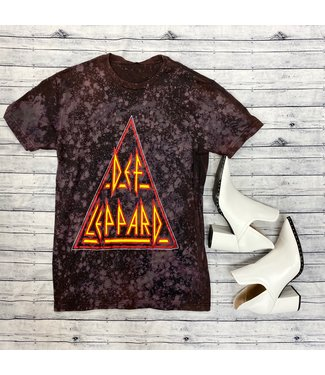 Diamond T Outfitters Def Leppard Band Tee