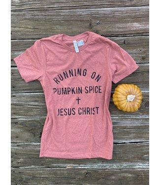Mother Hustler Pumpkin Spice/Jesus Tee