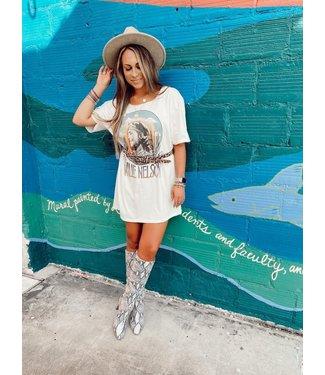 Gina Wholesale Willie Cactus T Shirt Dress