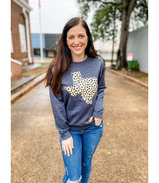 Diamond T Outfitters Spotted Texas Sweatshirt