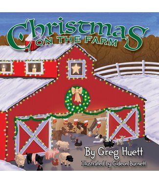 Big Country Toys Christmas on the Farm Book