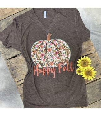 Ranch Swag Happy Fall Pumpkin Tee