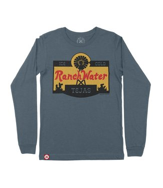 Tumbleweed TexStyles RANCH WATER LABEL L/S CREW NECK