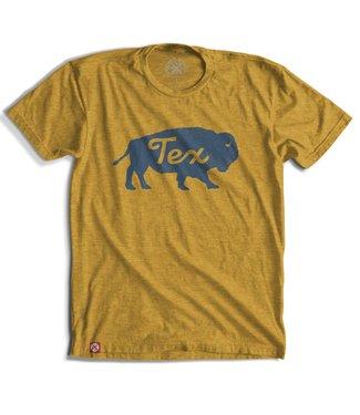 Tumbleweed TexStyles Buffalo Tex Mustard Tee