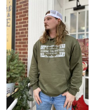 Diamond T Outfitters Diamond T Aztec Hoodie