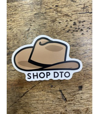 stickers NW Cowboy Hat DTO Decal