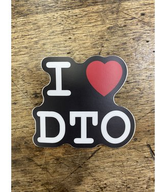 stickers NW I heart DTO Decal