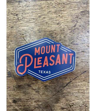 stickers NW Mount Pleasant Texas Diamond Decal